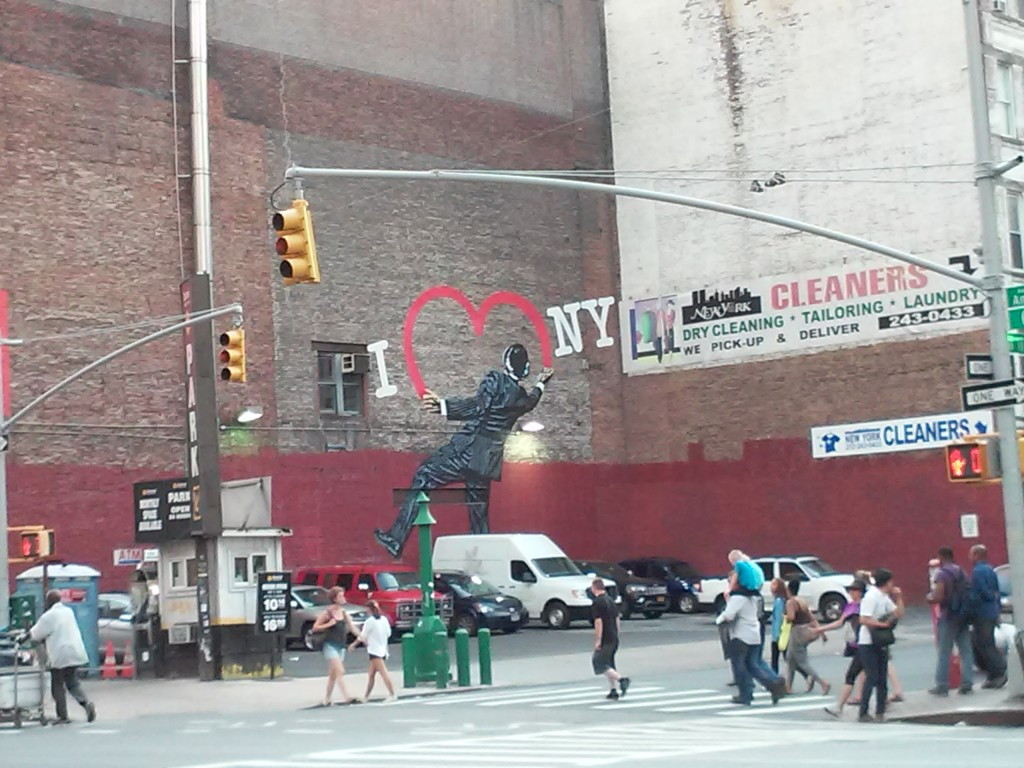 great ART is EVERYWHERE: I (Heart) NY